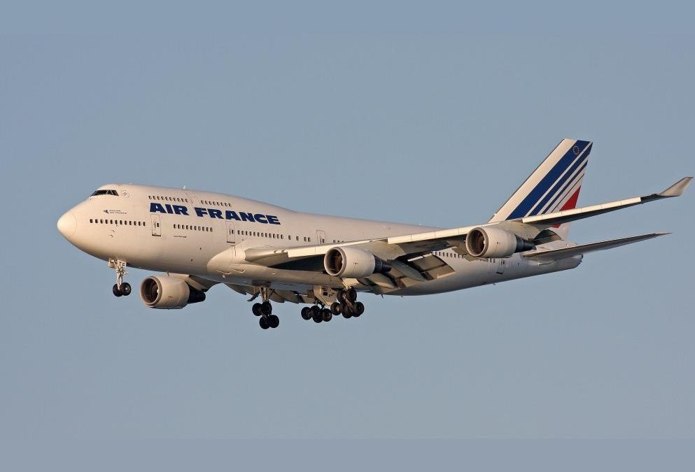 The last flight of the 747 (by a Gardan pilot)